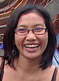 Wulan Sane Assistant Director of the luxury Liveaboard WAOW for dive charters in Indonesia